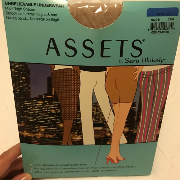 0d5303b289 Assets Sara Blakely Mid-Thigh Shaper nude 4 NWT